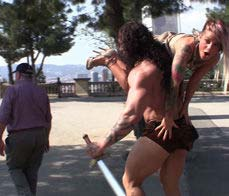Conan fucks his submissive slave - Conan