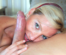 Preppy blonde MILF cuckolding her husband