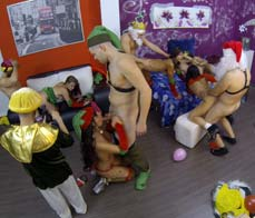 Xmas Orgy: Long Shot