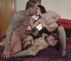Three is not a crowd, it's an awesome sex feast